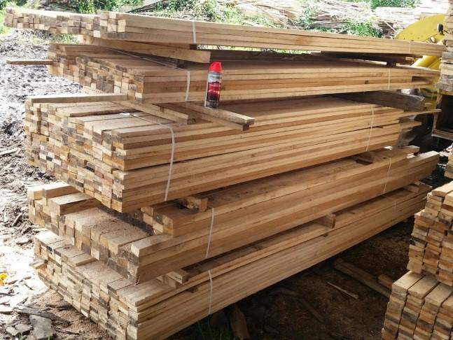 Cadenas de valor para la comercialización de madera en Zona Atlántica.
