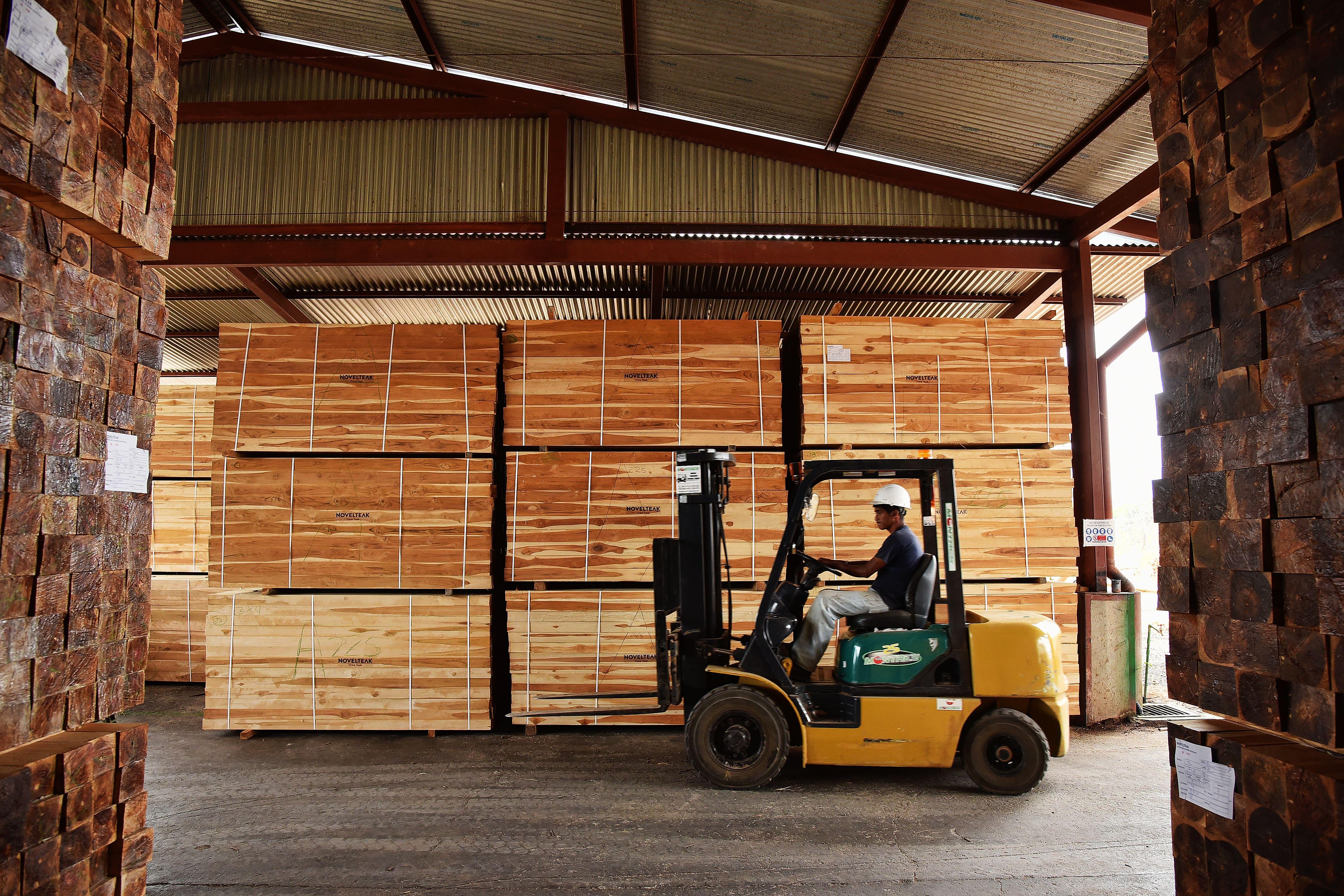 Balanza comercial y tendencias de las exportaciones e importaciones de productos maderables para 2015.
