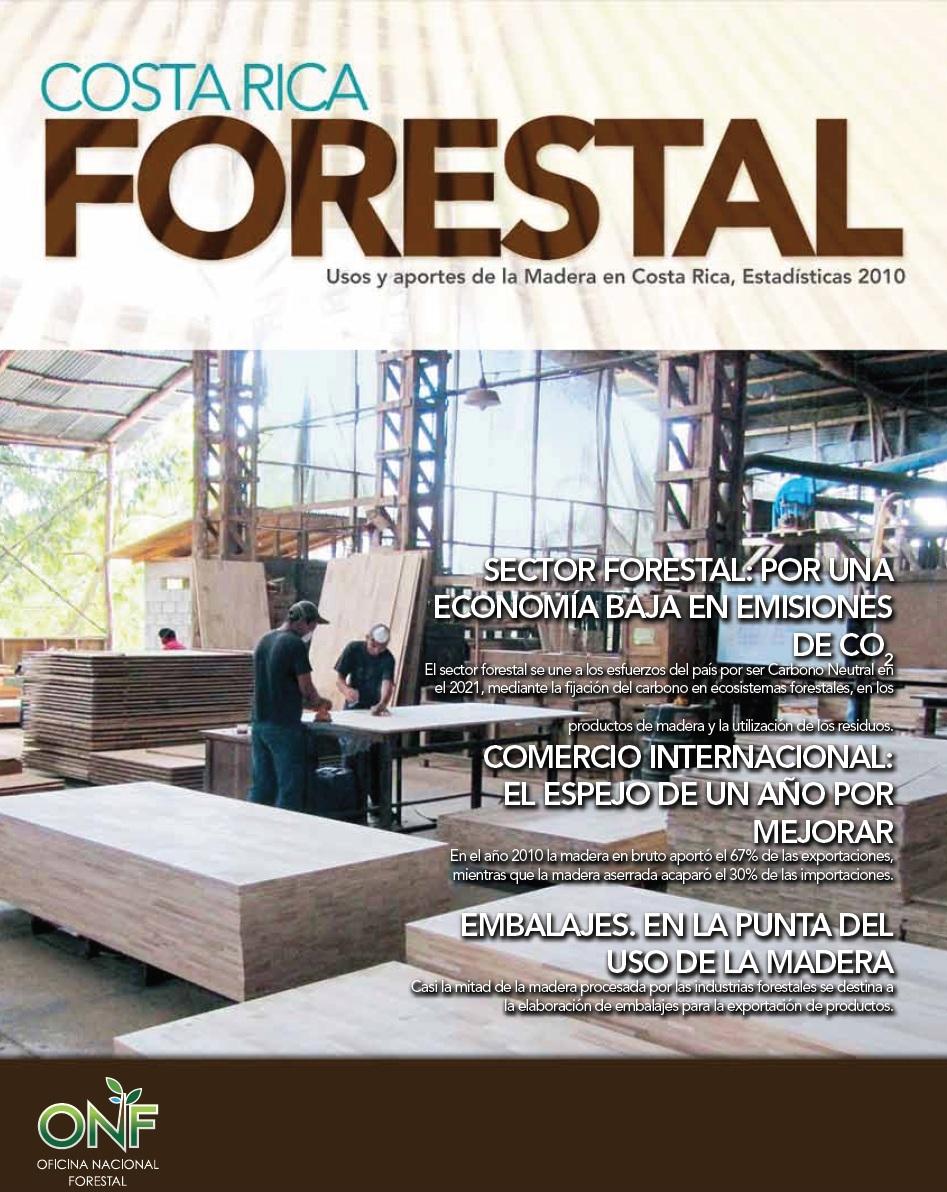 Portada Revista CR Forestal 2010