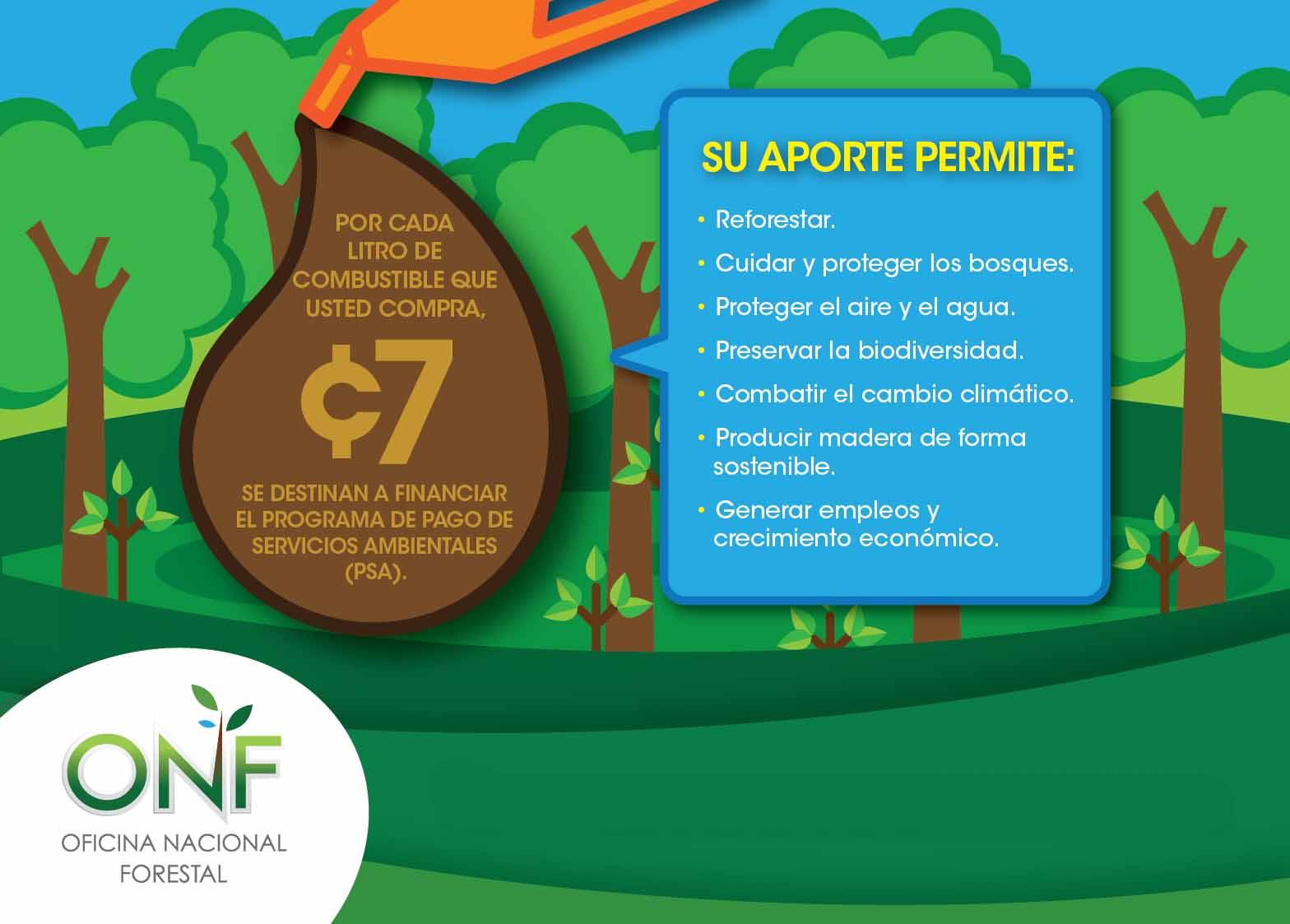 ONF busca consolidar al Programa de Pago por Servicios Ambientales (PPSA)