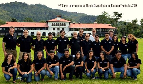 XXV Curso Intensivo Internacional del CATIE mostró estado actual de bosques en América Latina