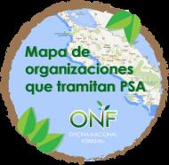 Mapa ONF