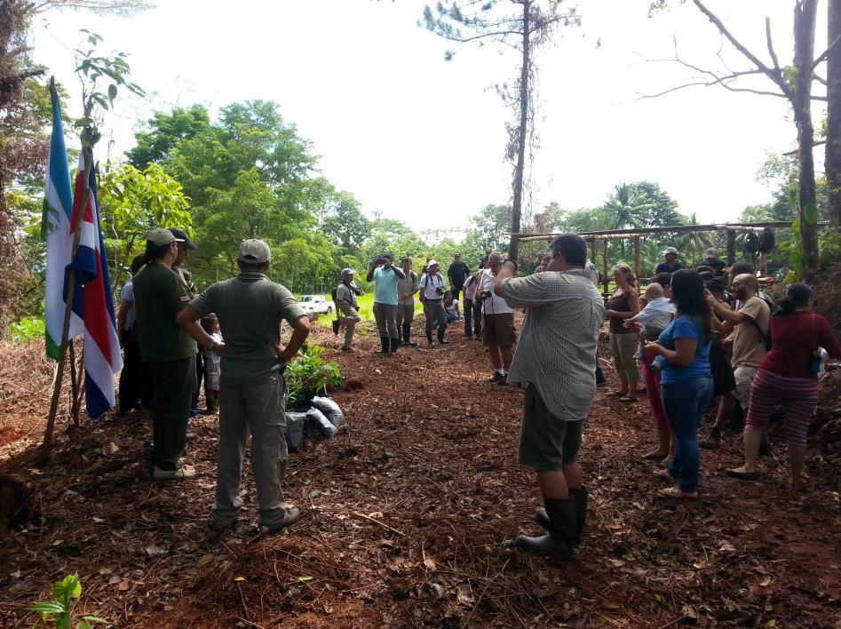 Inauguraron el primer Arboretum en la Reserva Forestal Golfo Dulce
