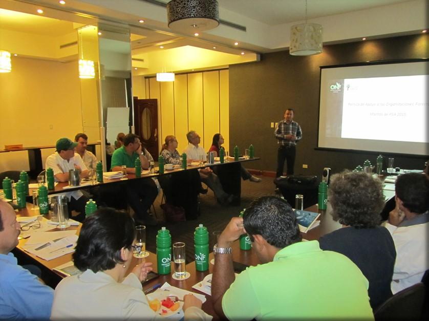 Organizaciones forestales analizan los proyectos de PSA de 2015